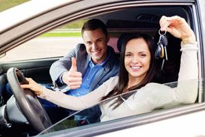 מנעולן לרכב ושמירה על בטיחות - אילוסטרציה